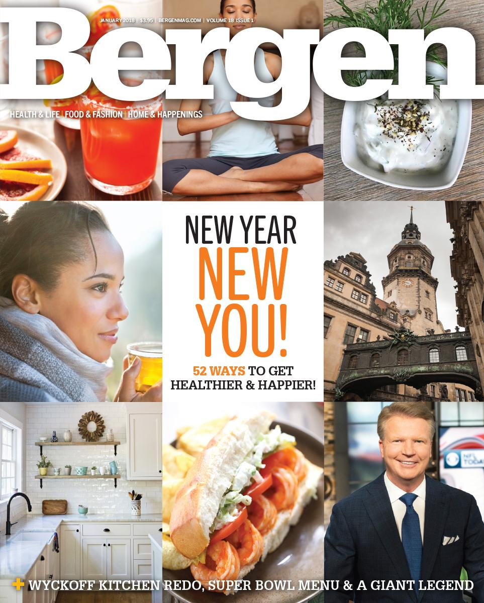 Bergen Magazine - January 2018 cover (kitchen bottom left)