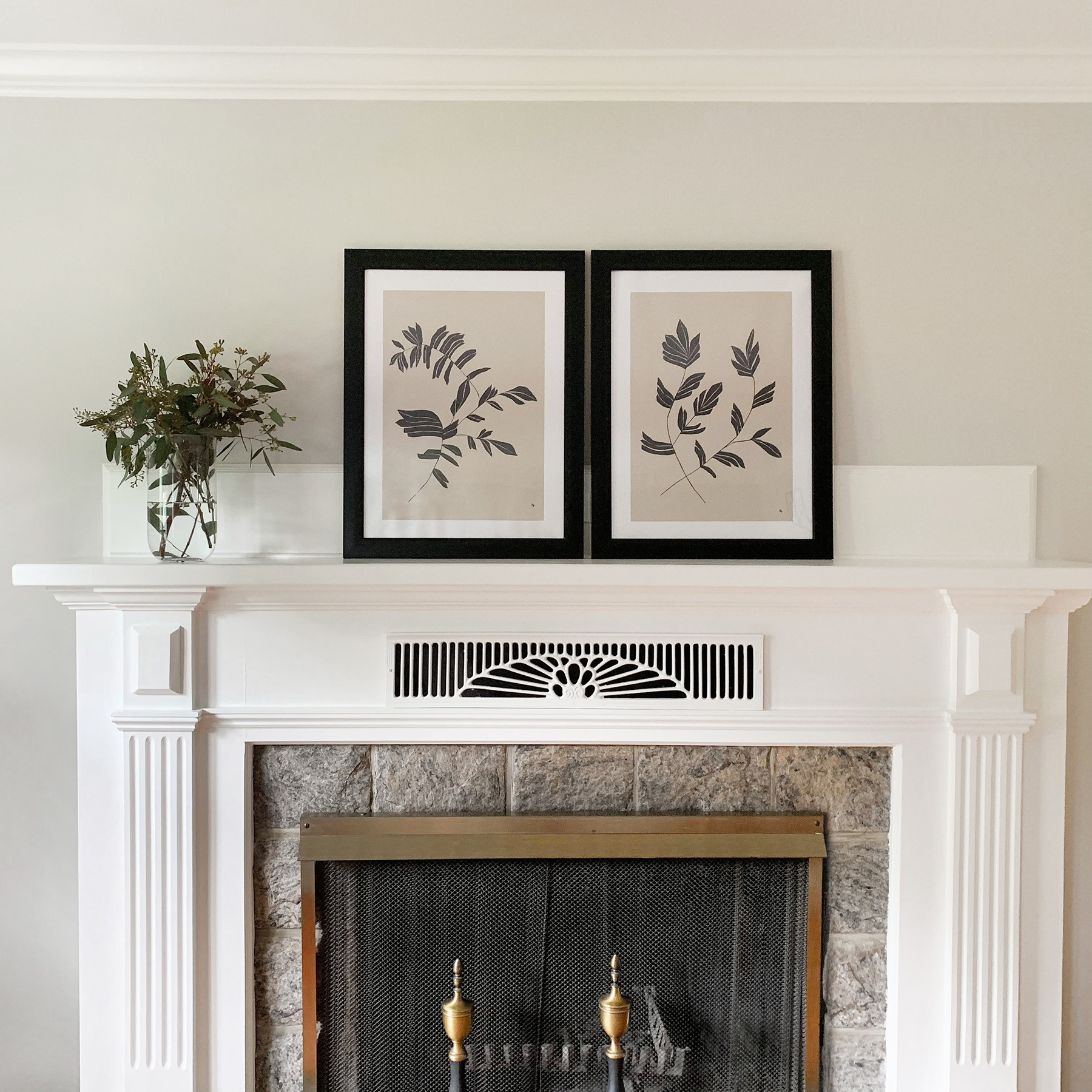 Copy of Fireplace Mantle Decor