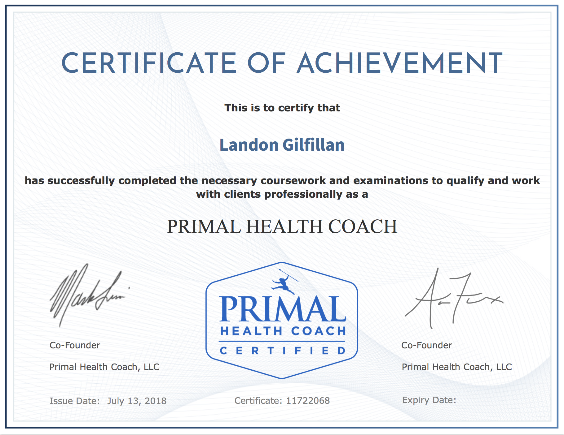 PrimalHealthCoachCertificate