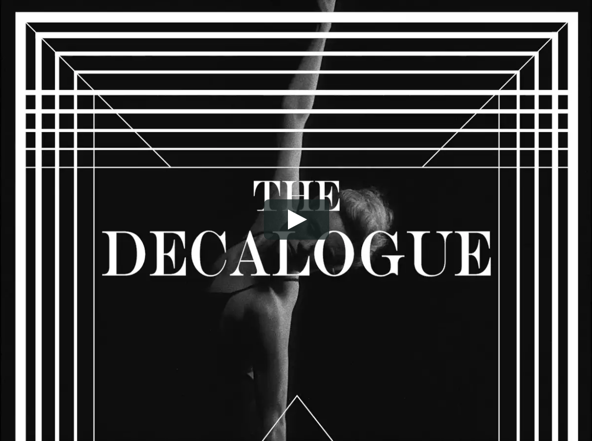 "NYC BALLET ""The Decalogue"""