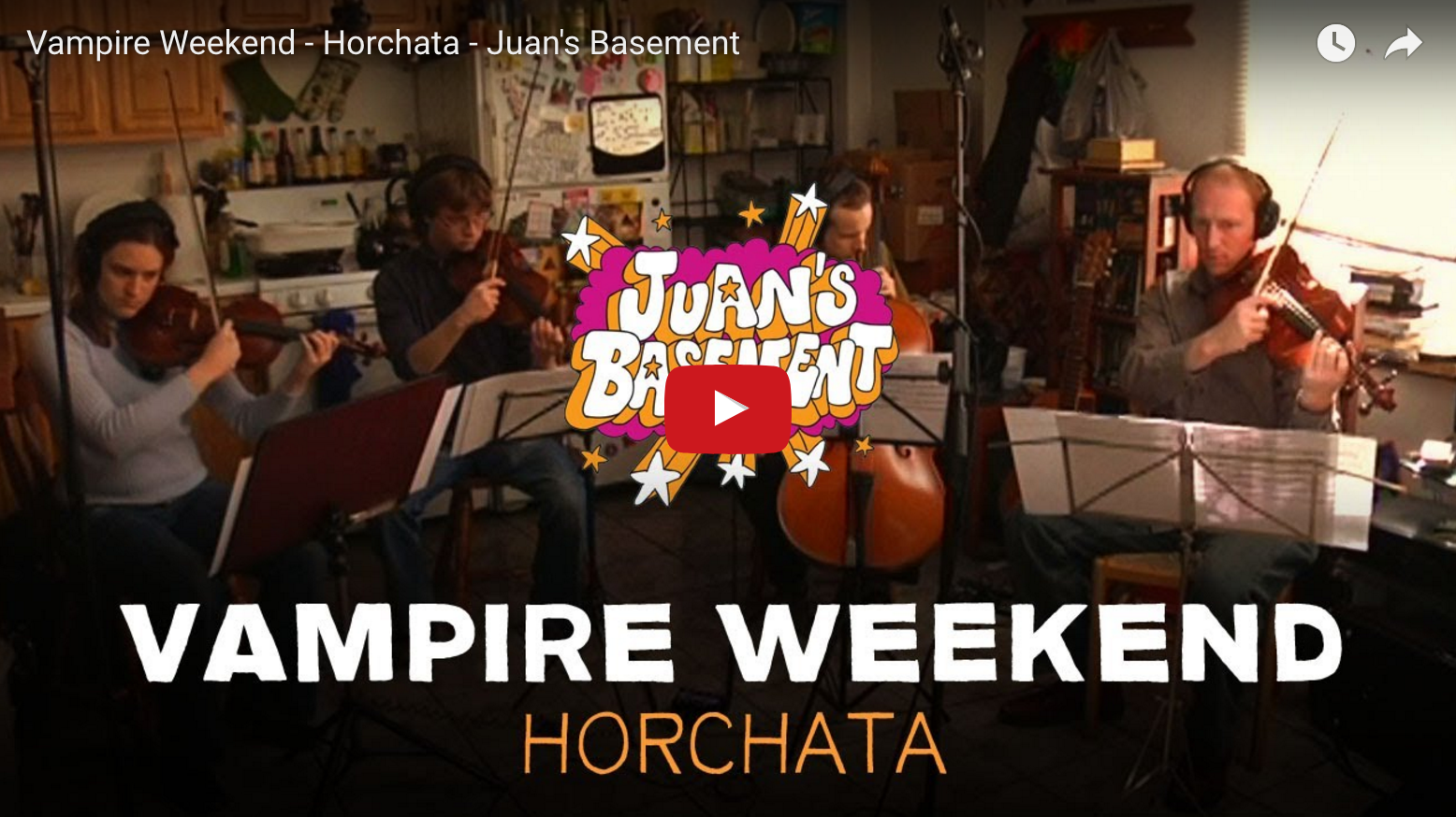 Vampire Weekend on Juan's Basement