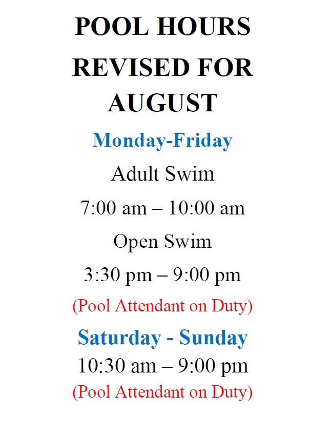Pool Hours - Revised for August 2019.jpg