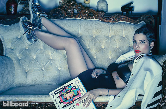 Halsey in Billboard Magazine