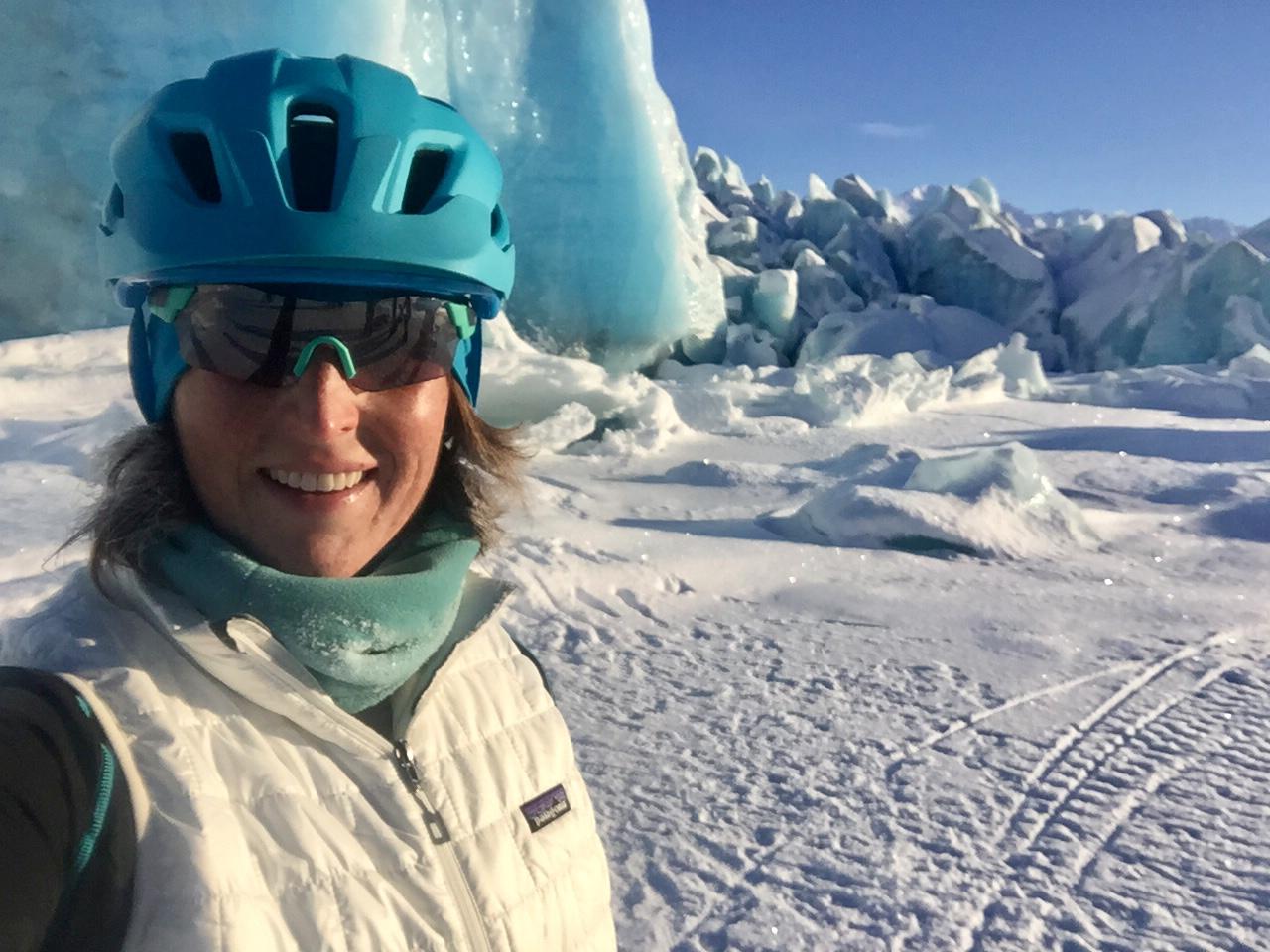 After riding fat bikes to the Knick Glacier - Palmer, Alaska - 2017