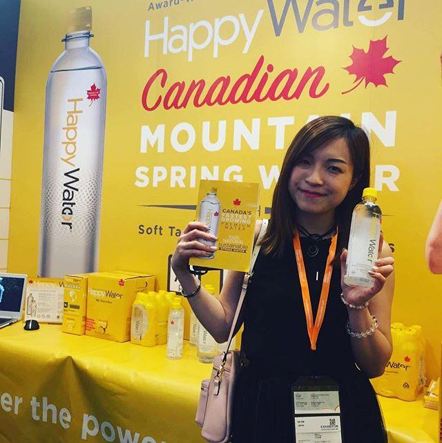 Happiness knows no boundaries. #happy #water from #canada #livehappy #hongkong