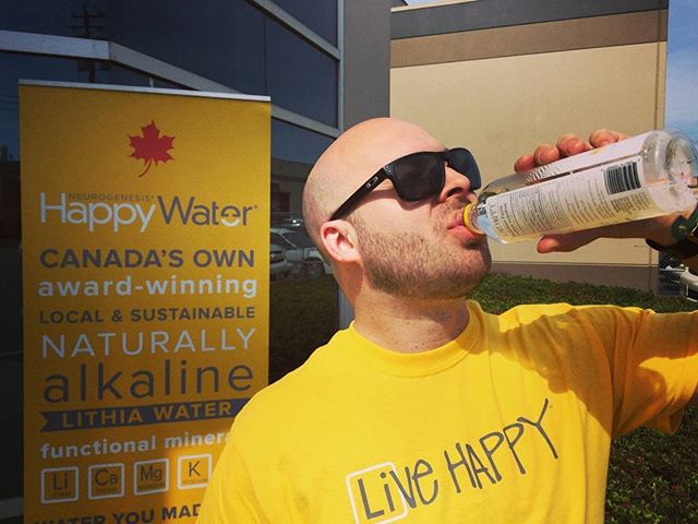 Happy Friday, awesome happy people.  If you are near Abbotsford, come visit us at Silver Hills Bakery, on Peardonville.  There is a promo on #happywater AND we are doing a Buy 1, Get 1 free #livehappy #vancity #sunnyday