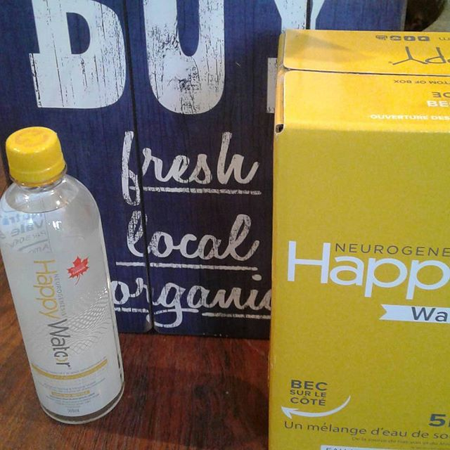 Yum!  In addition to fabulous smoothies, make sure you stop by @one.love.smoothies for your favourite BC water :)