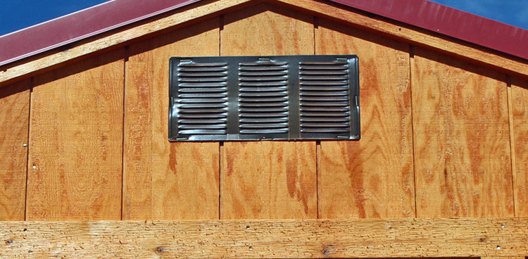 Vent for Shed