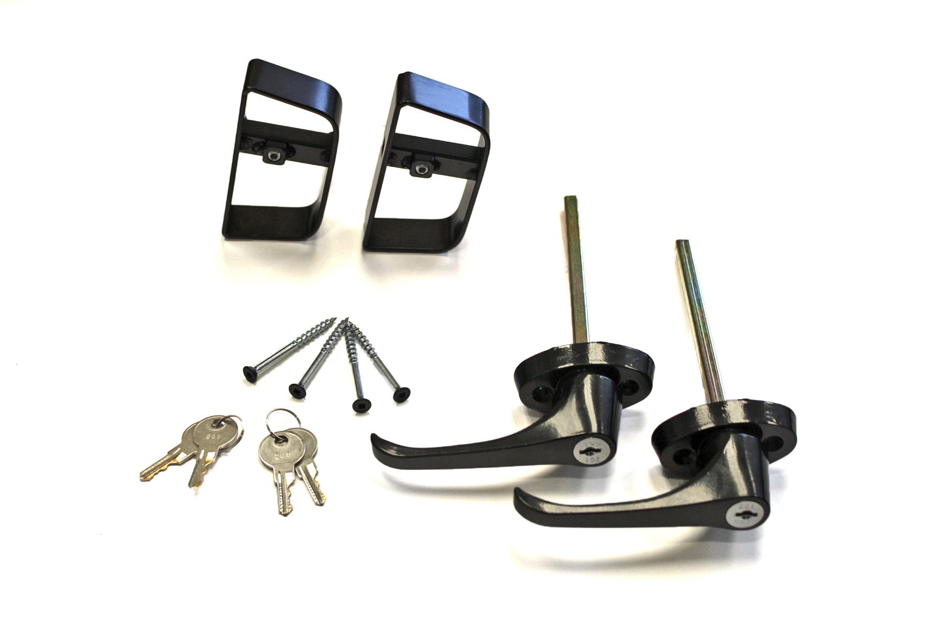 L Handle Keyed Alike Door Lock Set