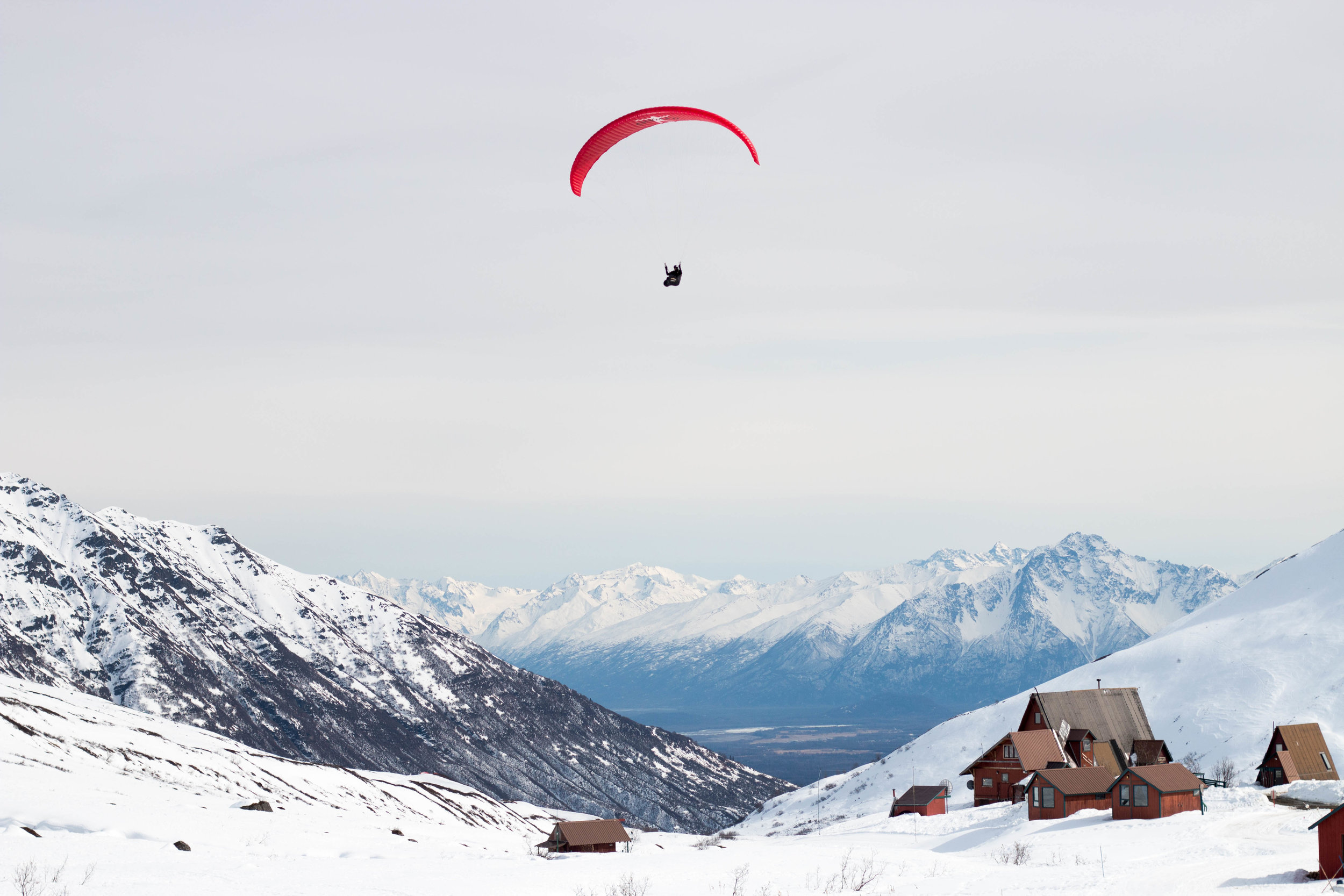 Alask Luke Webster photography adventure paragliding