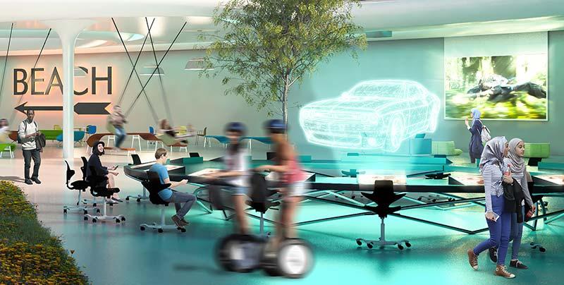 CloseUp_Image-HÅG-presents-Workspace-Invaders_HologramIntegration.jpg