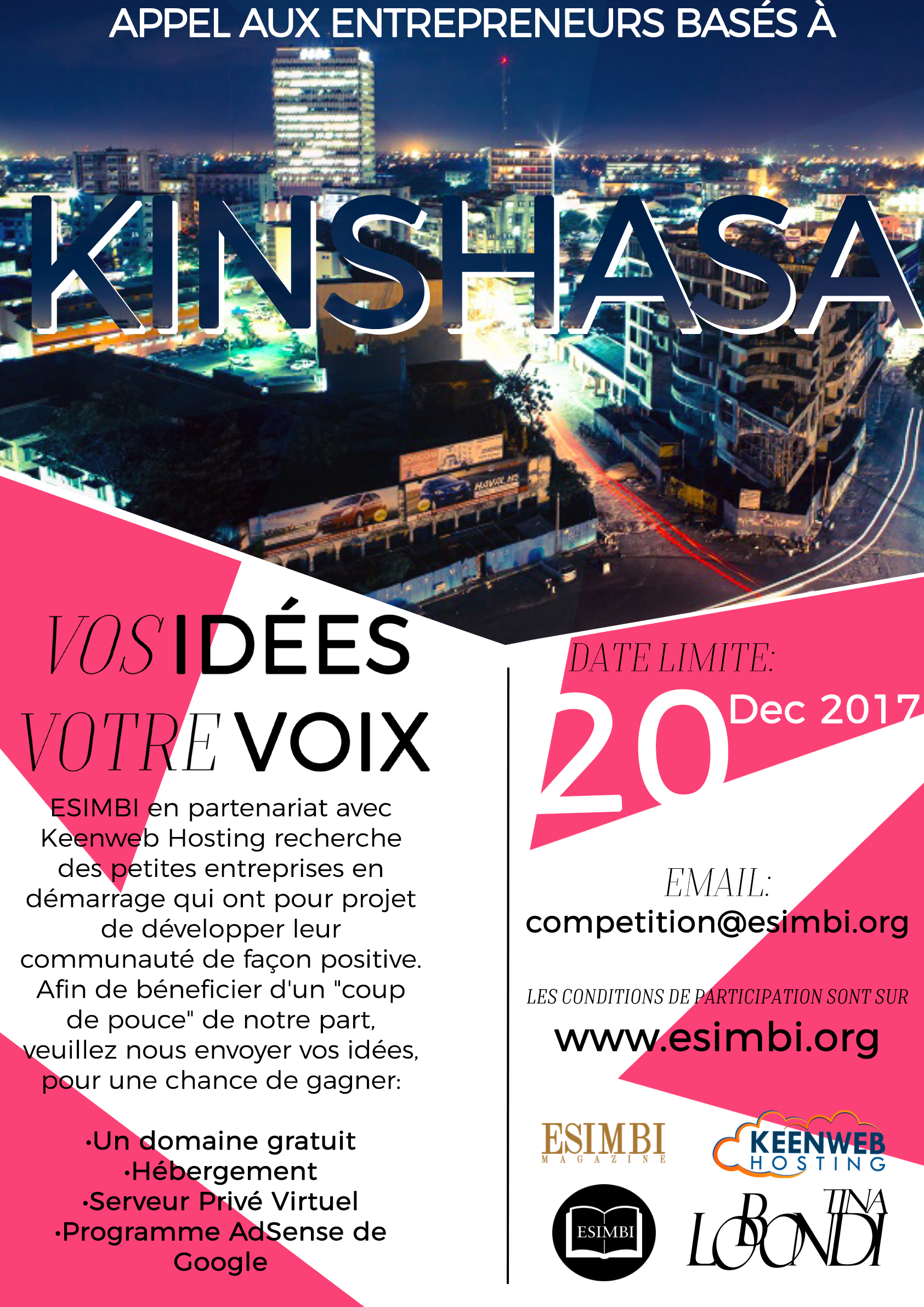 ESIMBI RDC competition