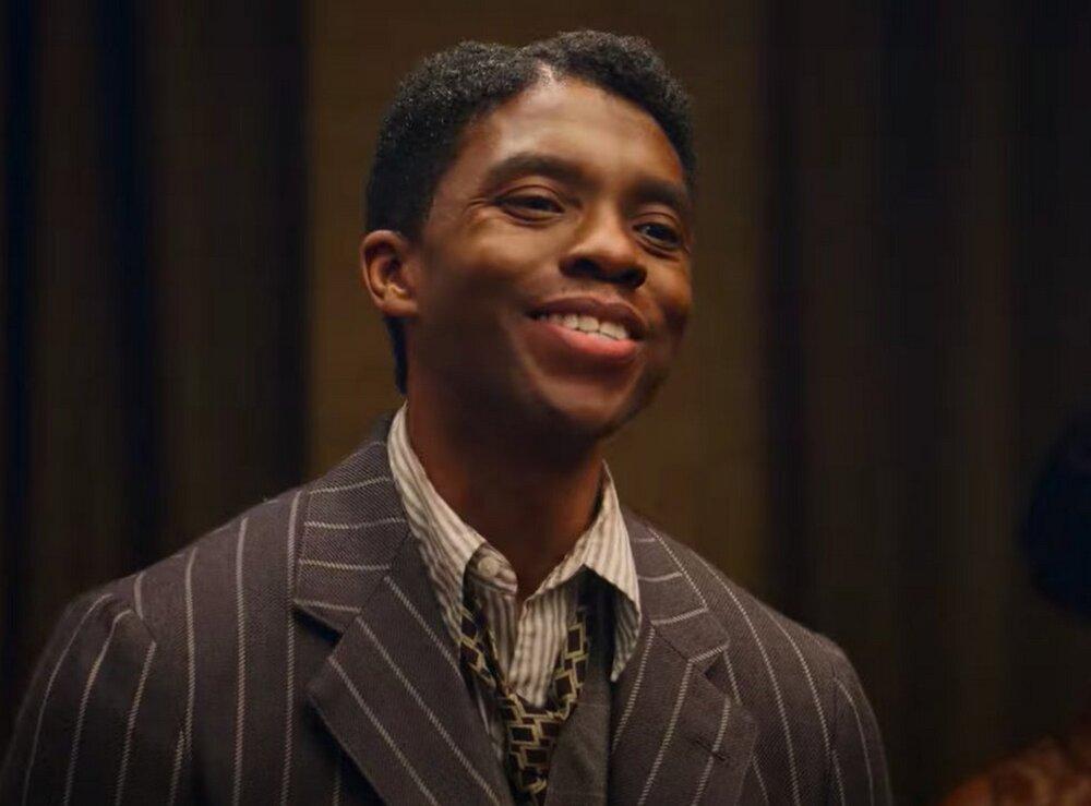 Chadwick Boseman dans le rôle de Levee. Crédit photo : David Lee - Netflix