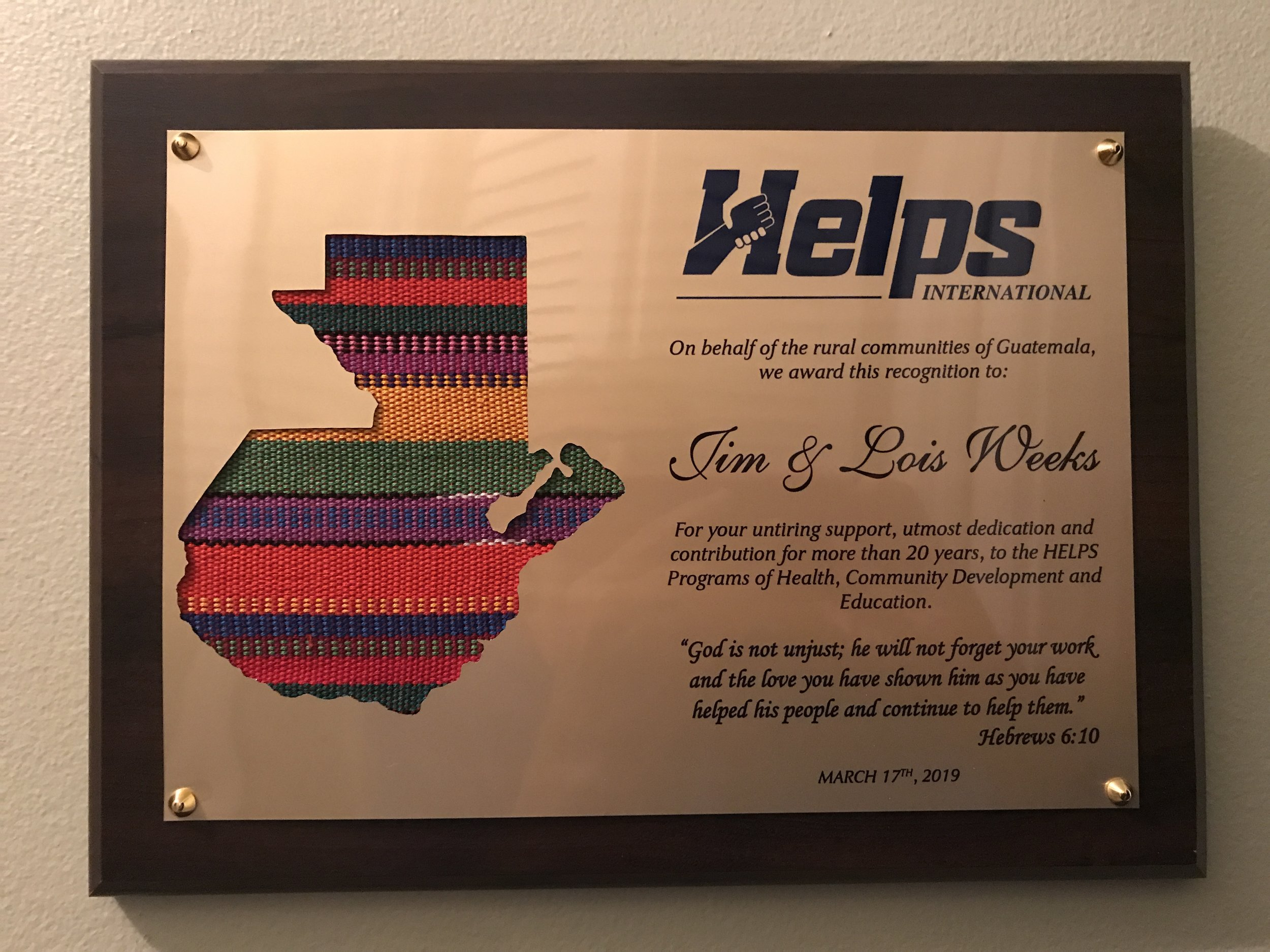 Helps Award.JPG