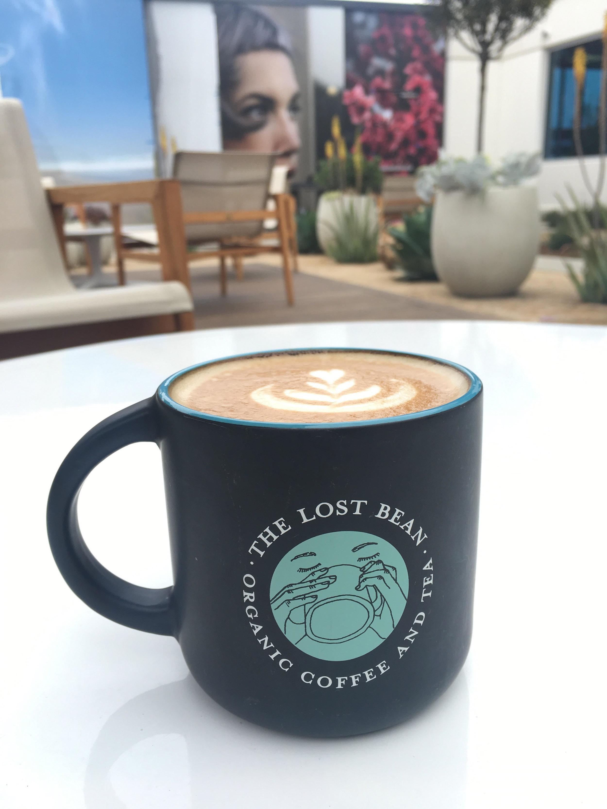 The Lost Bean Logo Mug
