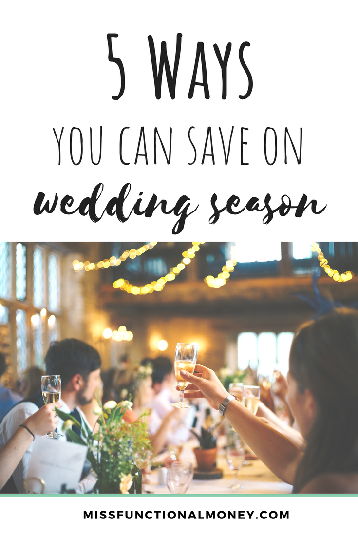 On average, a friend's wedding costs us $888 from engagement toast to sparkler exit, according to a 2016 study from the Knot. That's an average number. Bridesmaids often spend well over $1,000. And to be quite frank, I think that estimate is on the low side. Here are some ways you can save!