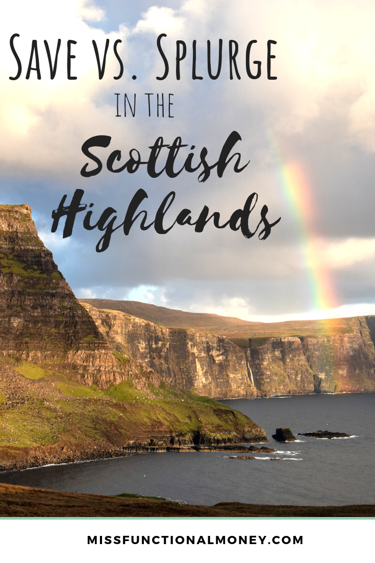 How to save money, what to see and what you can't miss on your honeymoon in Scotland | MissFunctional Money | #travel #honeymoon #scotland