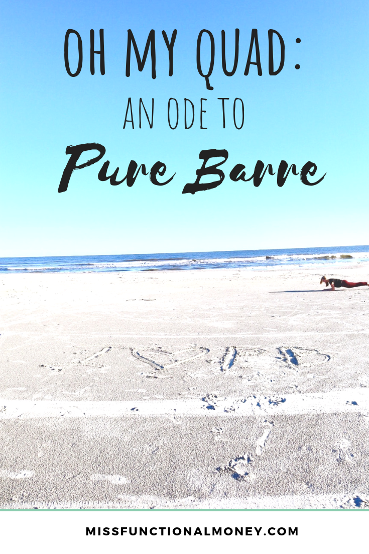 Is Pure Barre worth the cost? Learn why I shell out $155 per month for my membership. | MissFunctional Money #personalfinance #fitness #frugalfitness