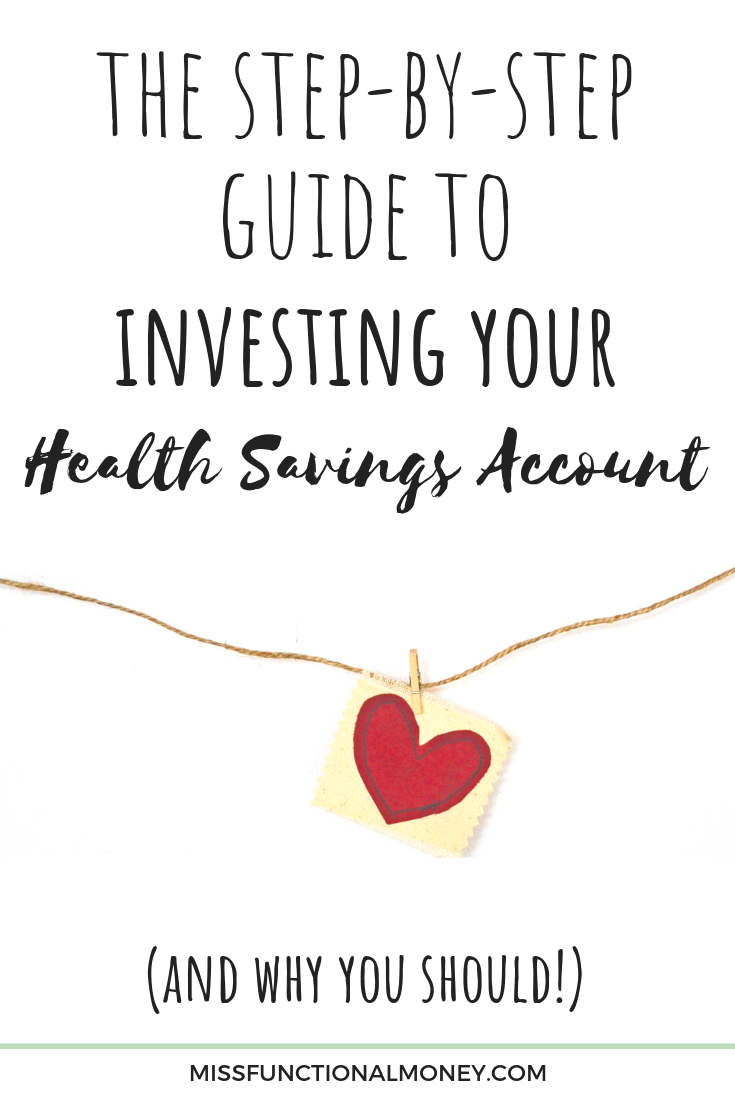 How do you invest a health savings account? Should you even contribute to an HSA? Learn how your HSA can be a secret retirement account! #money #investingtips #savemoney | MissFunctional Money