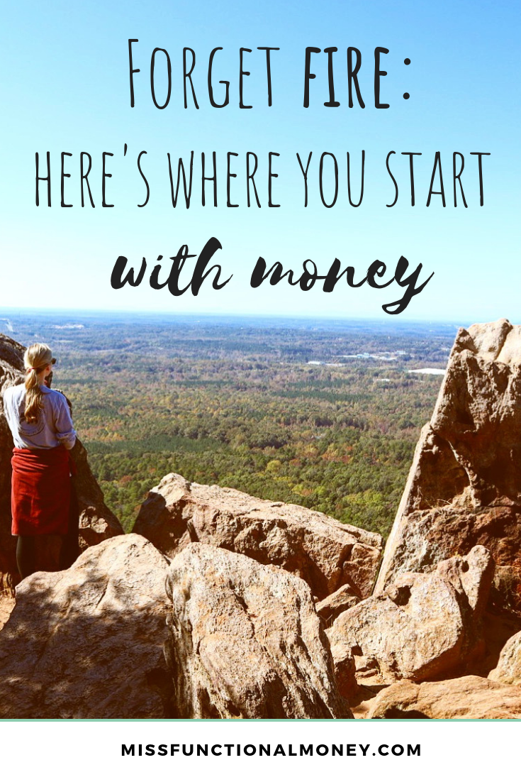 Personal finance can be so intimidating. What to do when you're bad with money? What about when you don't know where to start — when you don't even know WHAT you don't know — start here. | MissFunctional Money #savemoney #money #moneytalk