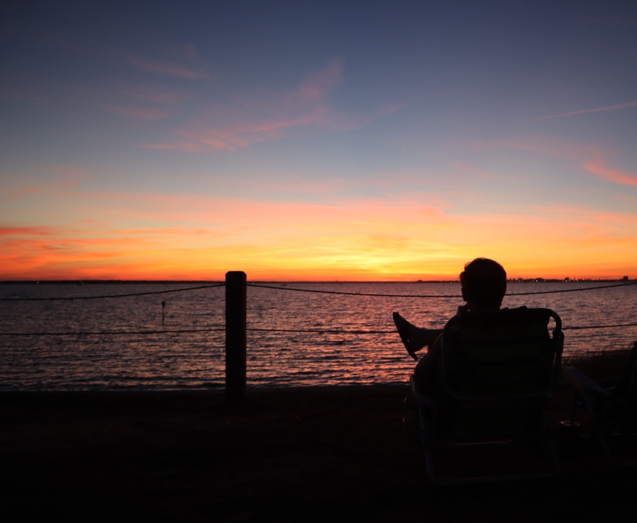 So many things that I love, all in one picture <3 shot by me at our favorite spot in Charleston, no edit or filter.