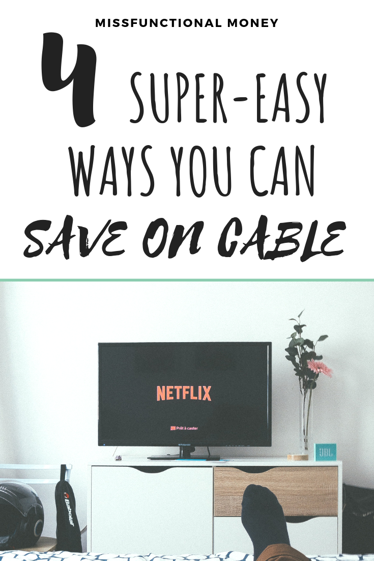 Cable is expensive! Searching for ways to cut costs on cable? Learn how to save on cable costs each month with these great alternatives | MissFunctional Money #savemoney #earnmoney #moneyideas
