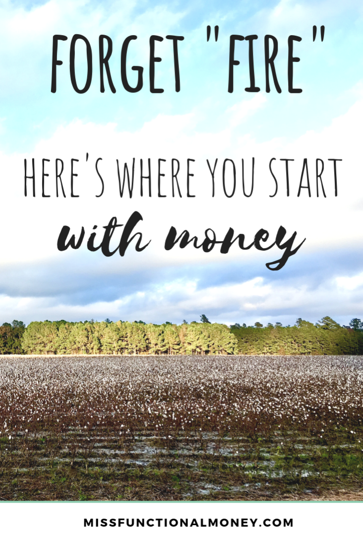 Where to start with saving money