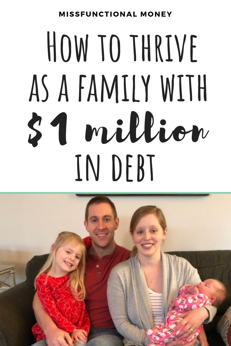 Student loans suck - here's one family's approach on how to pay off nearly 1 million in loans.  #debtfreecommunity #savemoney #loans