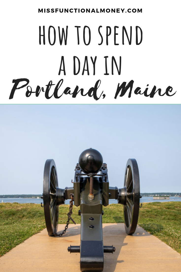How to spend a day in Portland, Maine #Missfunctionalmoney #travel #traveltips #maine