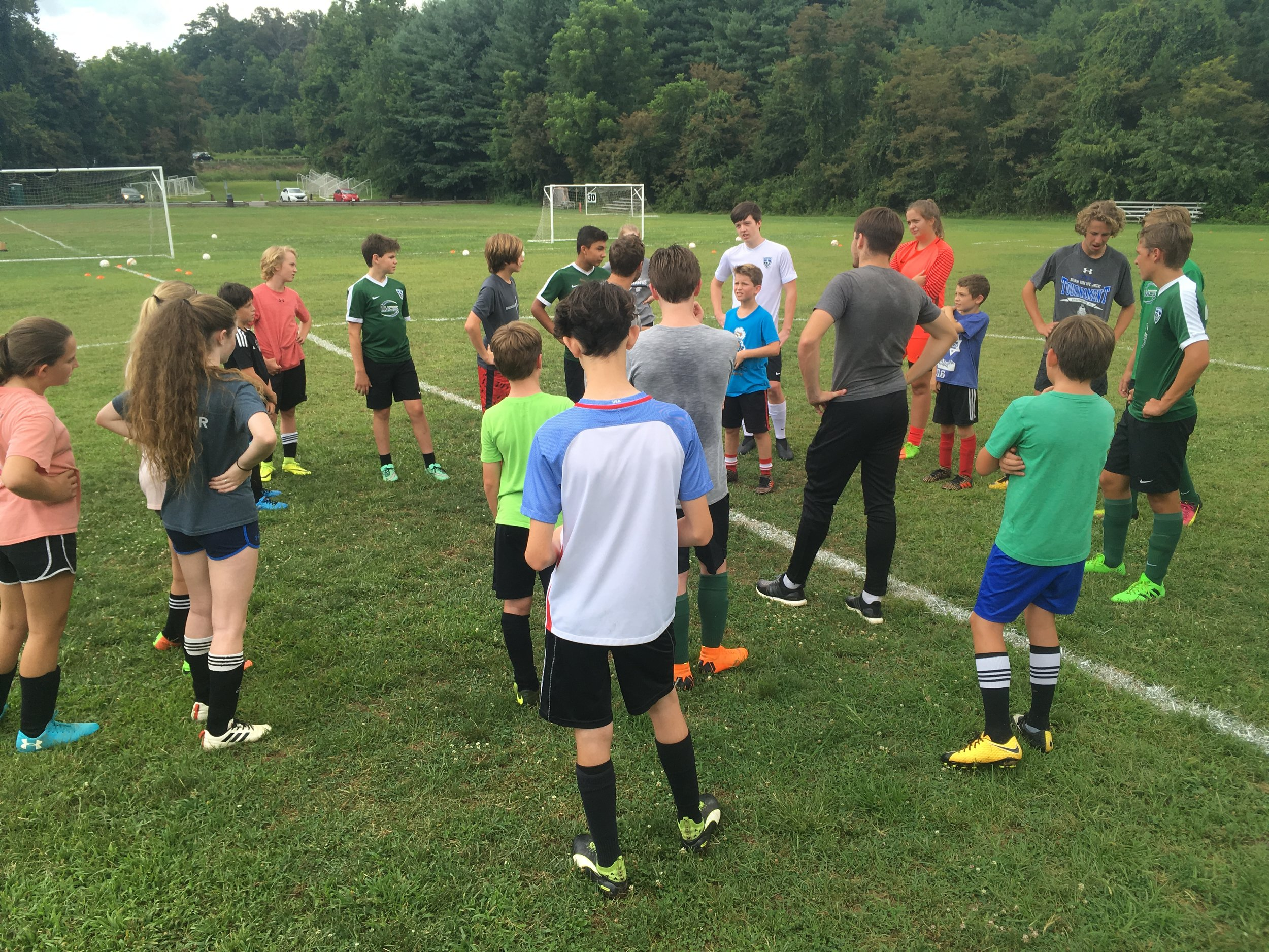 Three Day Camp - Each camp day will feature different daily topics which will include a lot of technical work, possession based drills, and match like situations to create game realistic scenarios. The camps will help keep players active during the summer, whilst preparing them for their Fall season. Groups will be decided based on age/ability. Limited spots available.Dates - 6/11, 6/12, 6/13Location - Asheville SchoolAges/Time - 9-17 @ 1-4pmPrice - Shield Players - $100. Non-Shield Players - $150. Includes Shield Camp Shirt