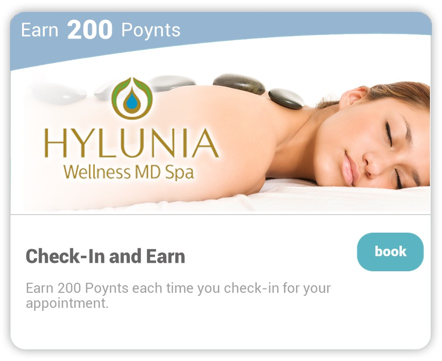 Hylunia on Carepoynt - Check-in and earn