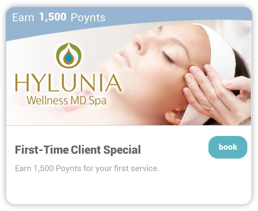 Hylunia on Carepoynt - First Time Client