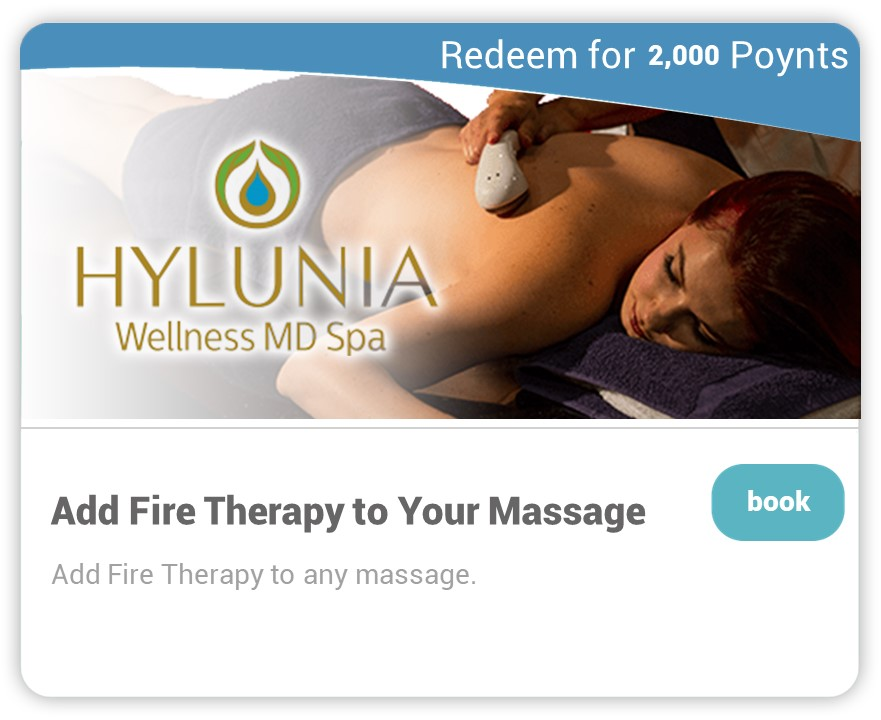 Hylunia on Carepoynt - Fire Therapy with Massage