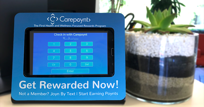 Poynts delivery made simple using the Carepoynt Kiosk