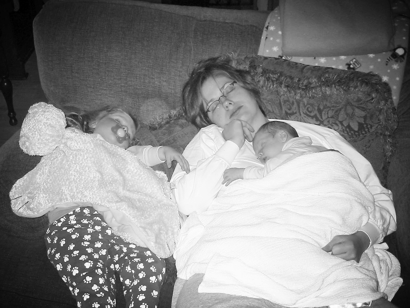 Asleep with My babies.jpg