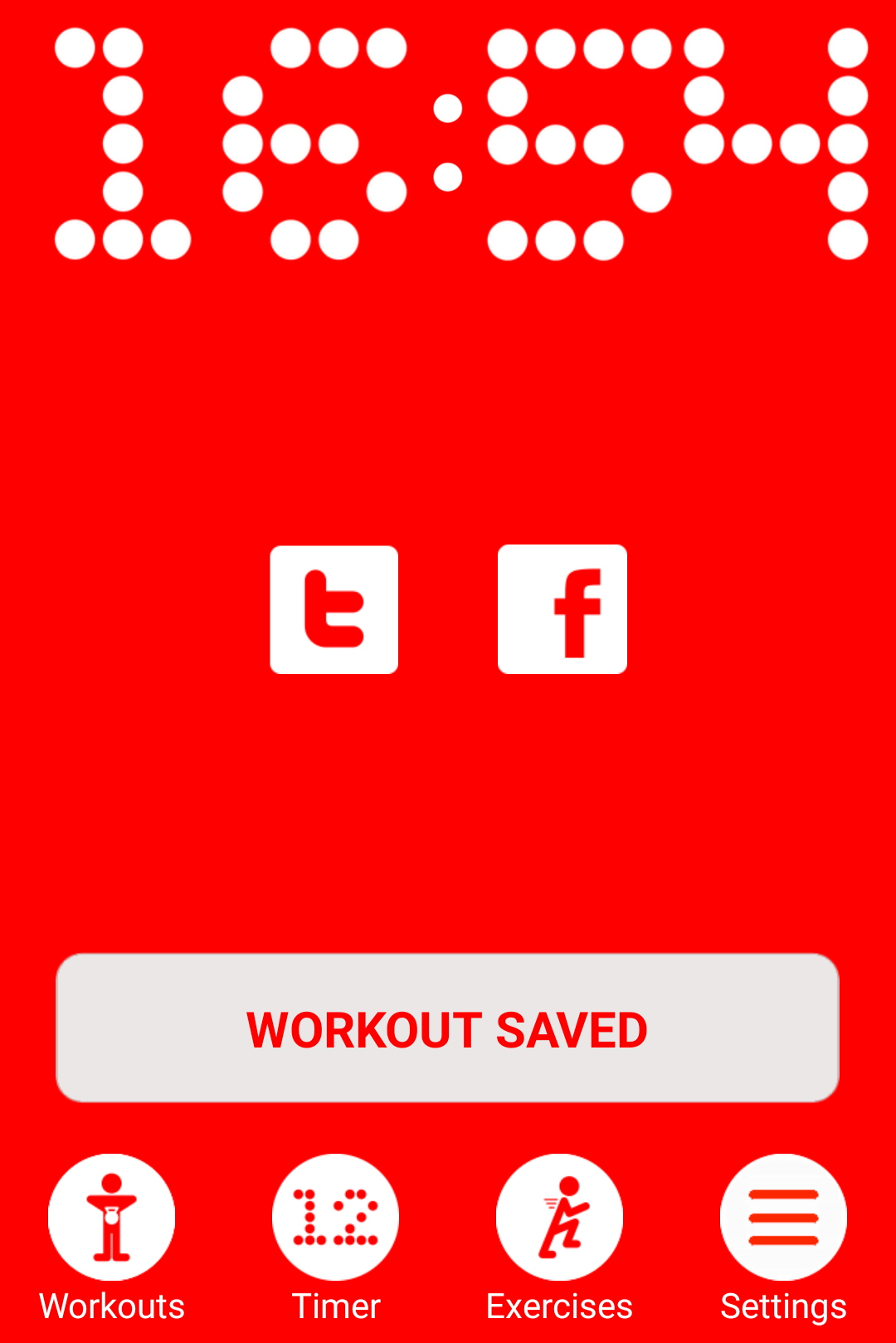 In less than 17 minutes, I completed a challenge workout, saved my time, and will compare this time to the next time I do this challenge workout.