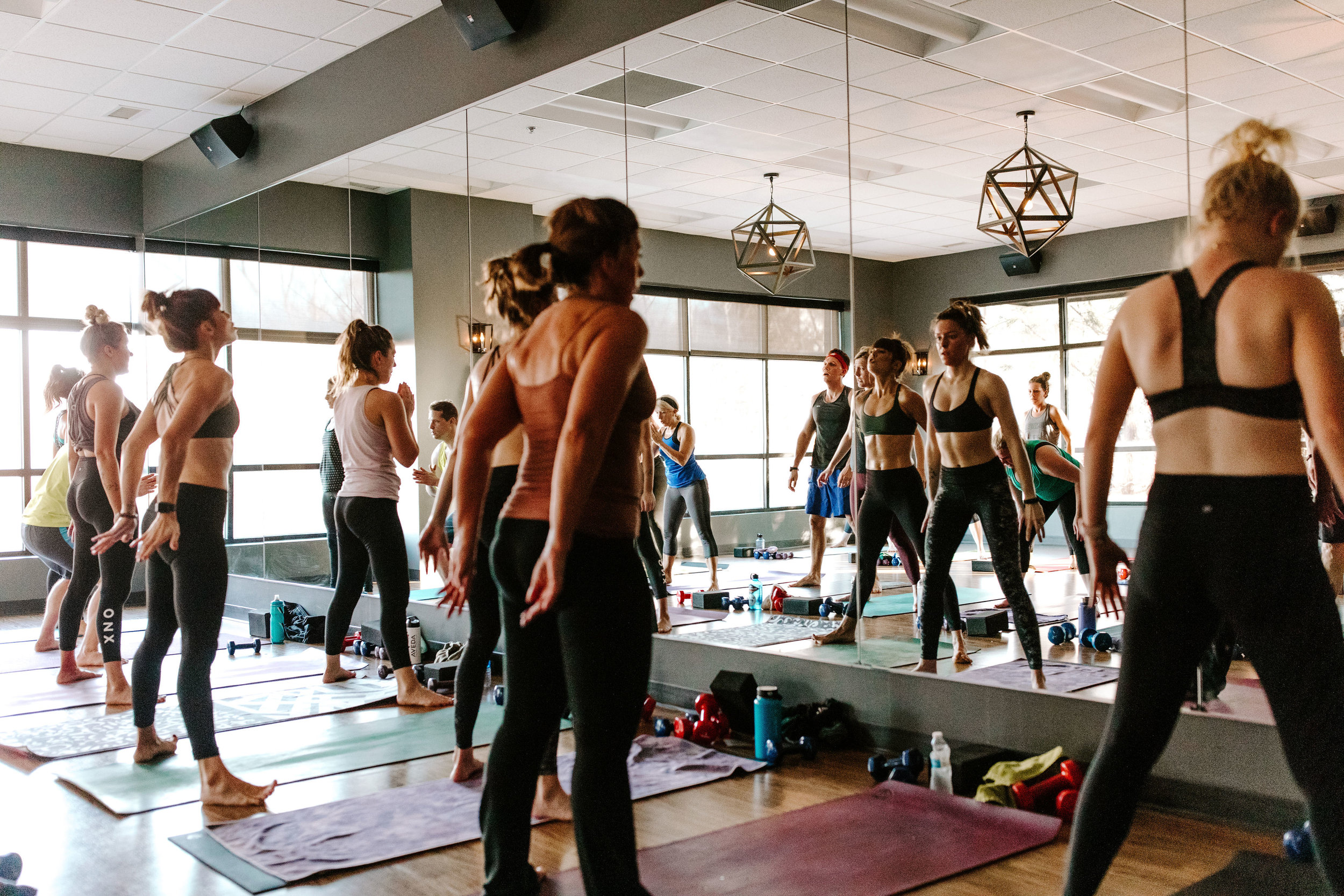 Sweat, strengtheN + stretch any day of the week -