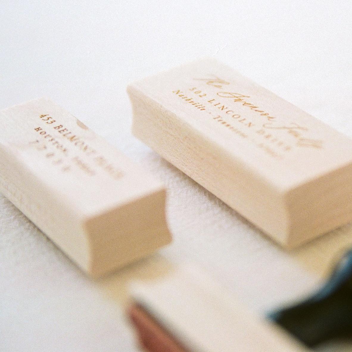 return address stamps -