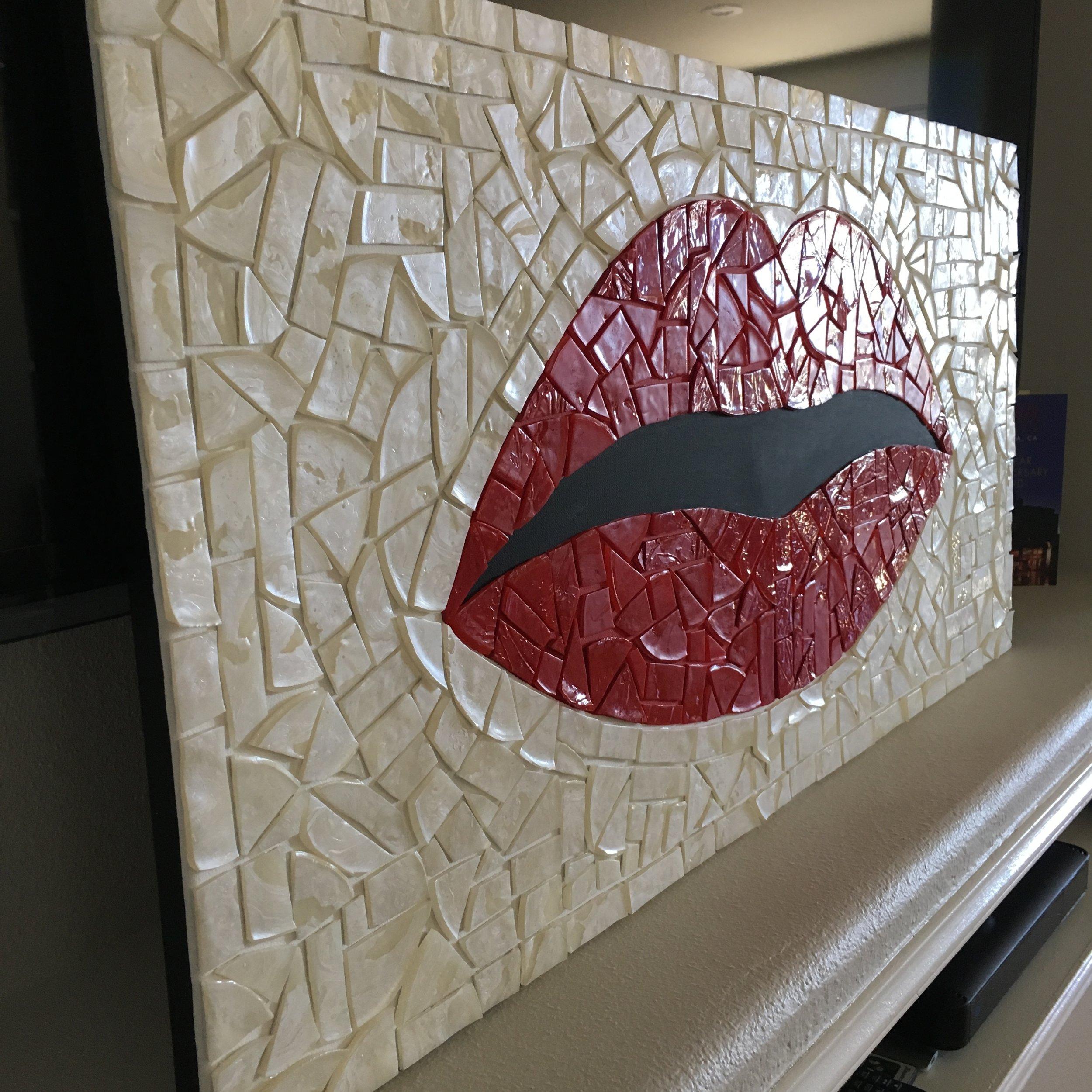 Mosaic Lips