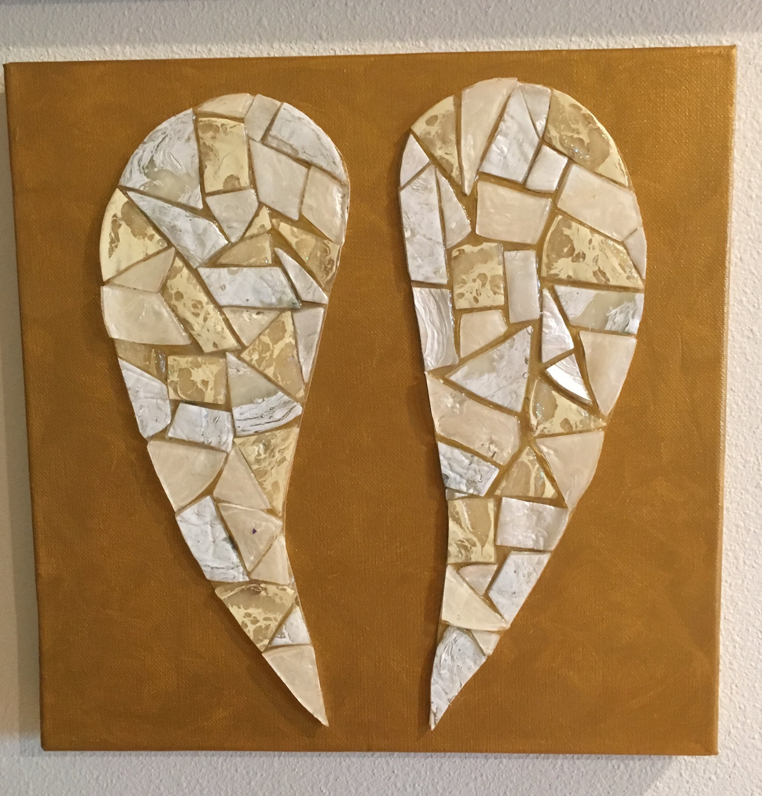 Mosaic Angel Wings