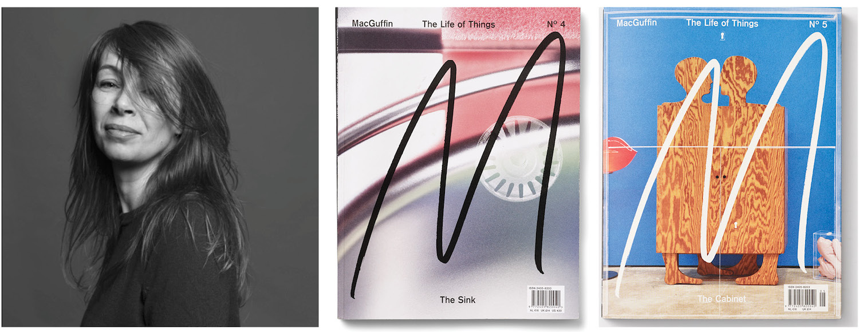 KIrSTEN algera and covers of macguffin magazine