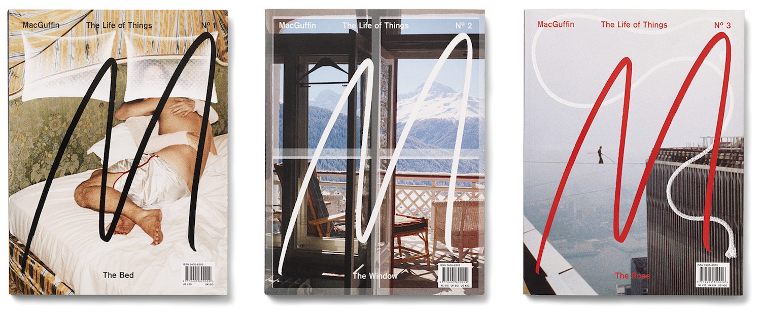 covers of macguffin magazine