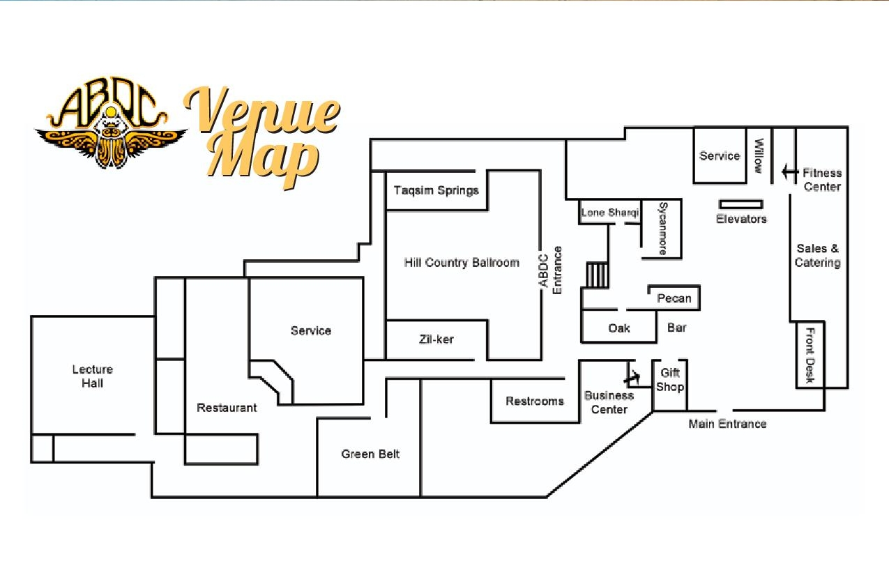 Select the Venue Map to Enlarge