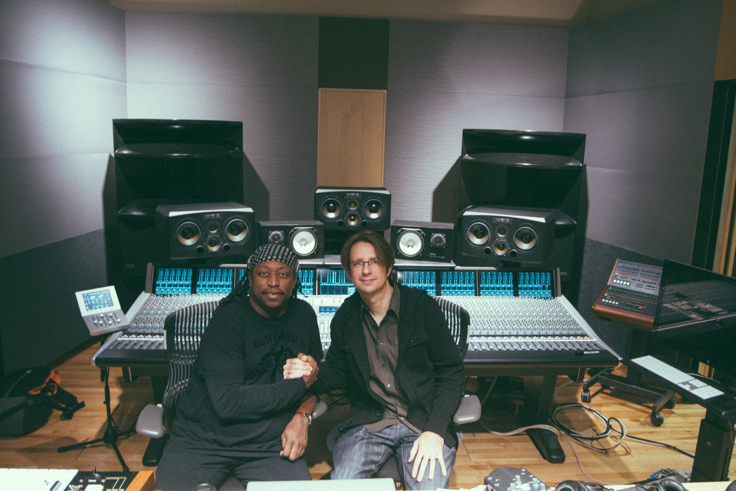 Working with Darryl Jones at Blade Studios