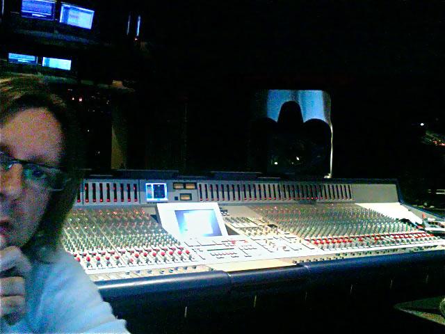 In Session at Red Bull Studios, Santa Monica, CA
