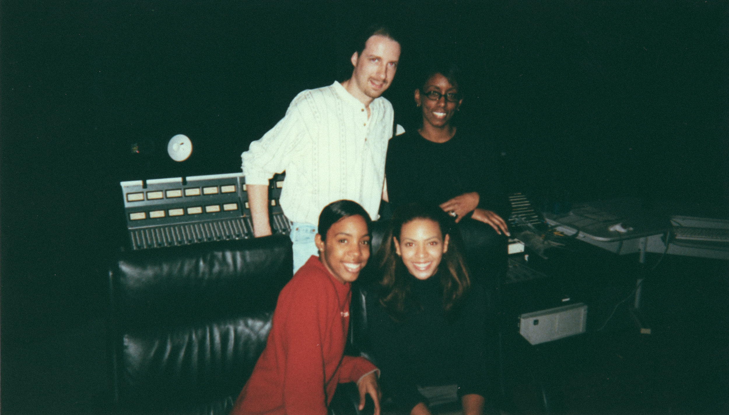 In Session with Destiny's Child (Kelly Rowland and Beyonce) at Dallas Sound Lab