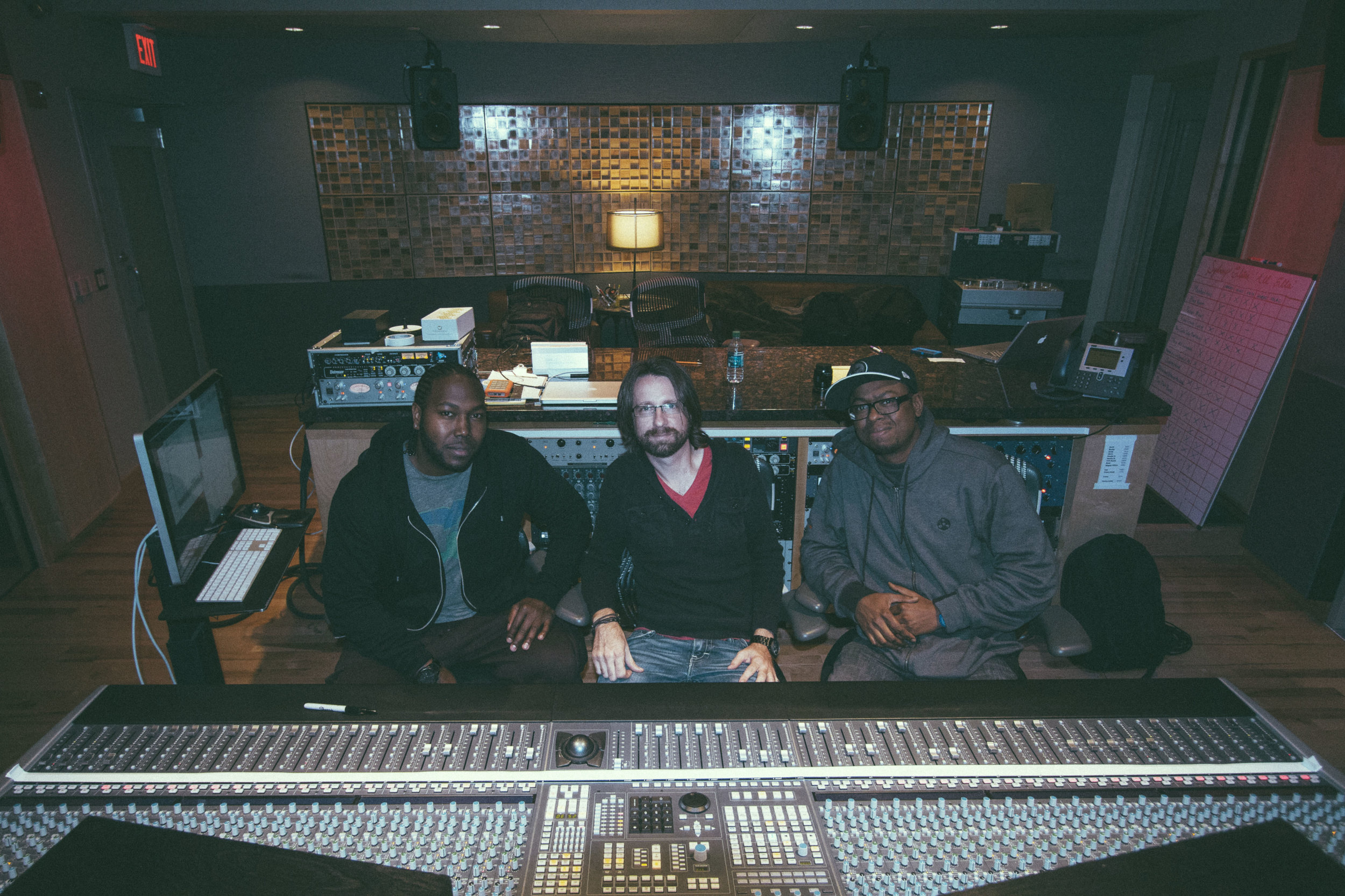 Mixing for RC and The Gritz with RC and Jaborn at Blade Studios