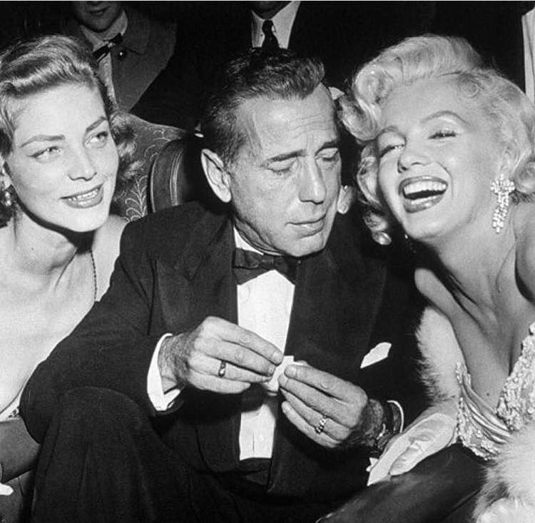 """The problem with the world is that everyone is a few drinks behind"" - Humphrey Bogart"