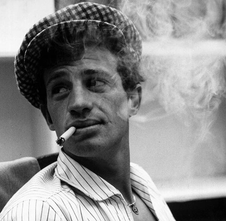 """A woman is the only gift that wraps herself"" - Jean Paul Belmondo"