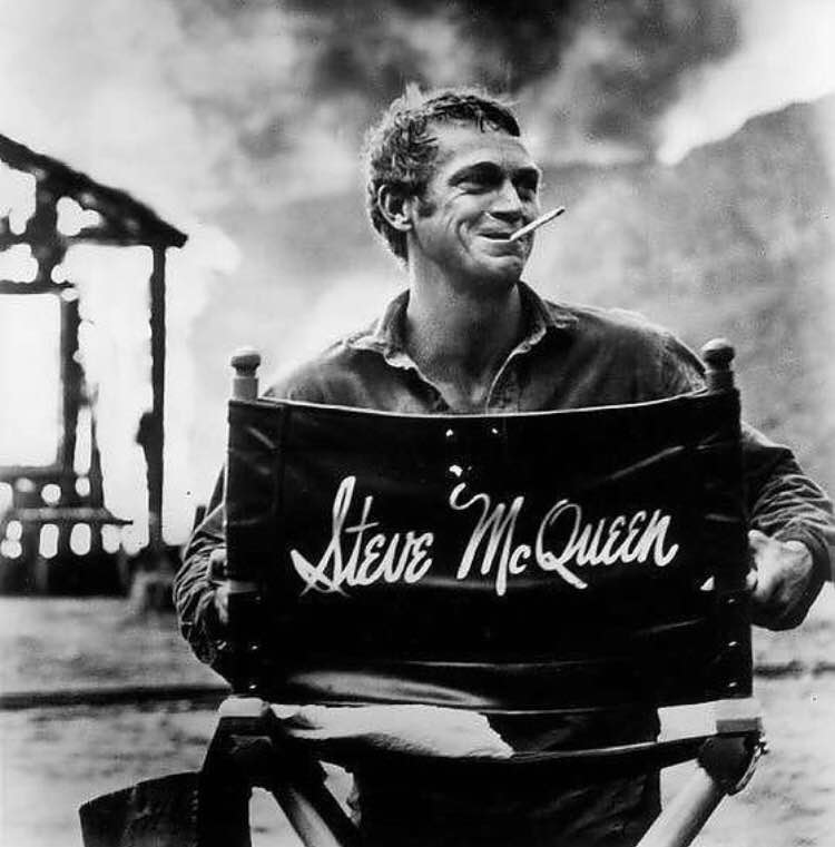"""I live for myself and I answer to nobody"". - Steve McQueen"